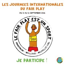 Jounees internationales du Fair Play 2016