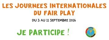 Jours Internationales du Fair Play 2016.